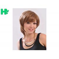 Comfortable Synthetic Hair Wigs With Comb Easily , Cuticle Aligned Correct