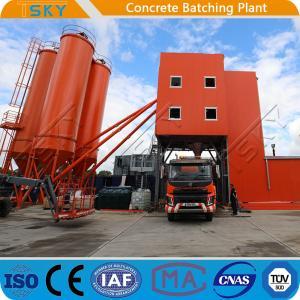 Cheap TSKY MS3000 Mixer 180m3/H HZS180 Concrete Batch Plant for sale