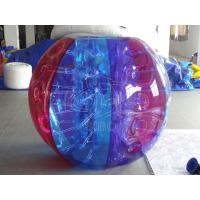 Cheap Logo Printed Colourful Inflatable Balls Inflatable Outdoor Bumper Ball Games for sale