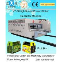 Cheap 4 Color Offset Flexo Printer Slotter Machine for Corrugated Box Printing for sale