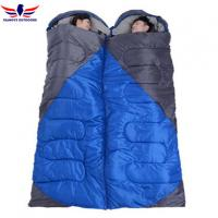 Cheap 4 Season Joinable Envelope Hiking Sleeping Bag for Single or Two Persons for sale