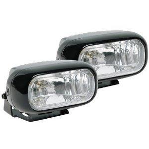 Cheap wireless xenon mini rectangular Car chrome halogen fog lights for sale