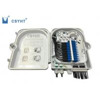 Cheap 24FO fiber optic termination  FTTH box for outdoor pole mounted loaded PLC splitter for sale