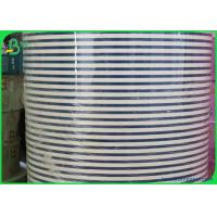 Cheap 60 and 120 gsm drinking straw paper rolls in white black and 1 - Color printing for sale
