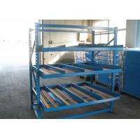 Cheap Automatic Gravity Flow Storage Racks , Carton Flow Shelving Customized Size for sale
