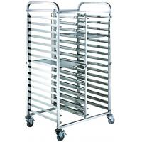 Cheap Mobile Commercial Hotel Equipment Bakery Tray Rack Trolley Stainless Steel Food Trolley for sale