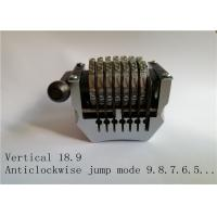 Cheap Vertical 18.9 Rotary Numbering Machine Anticlockwise Jump Mode Sandard Convex Type for sale