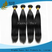 7A Straight Weave Indian Virgin Hair Extensions 20 Inch No Chemical No Smell
