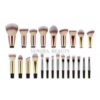 Quality 23 Pieces Synthetic Private Label Makeup Brushes / Handmade Makeup Brushes wholesale