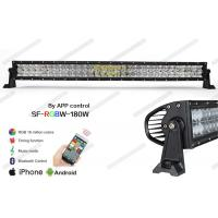 """Cheap 5D Optical RGB LED Offroad Light Bar 31.5"""" Controlled By Phone Bluetooth App for sale"""