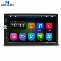 Cheap Wholesale Universal 7 Inch 2 Din Touch Screen Bluetooth Car Stereo with New C200S Chip / Mirror Link /New UI /Fast Charg for sale