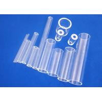 Buy cheap Uv Protection Fused Quartz Tube , Silica Glass Tube Hard Wear Resisting from wholesalers