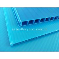 Cheap Ultraviolet - Proof Clear Plastic Hollow Board Corrugated Environmentally Friendly for sale