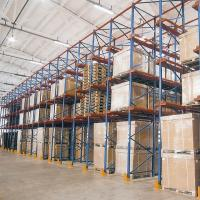 Cheap Steel Q235 Material Drive In Racking System Heavy Duty Metal Shelving for sale