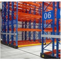 Cheap Electrical Movable Racking Systems For Warehouse Pallet Storage With Floor Rail for sale