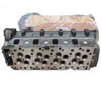 Cheap Cast Iron Auto Engine Parts Excavator Cylinder Head Replacement Complete Assembly For Isuzu 4HK1 for sale