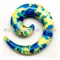 Cheap Custom Spiral Ear Tapers  for sale