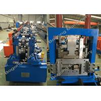 Cheap Interchangeable C&Z Purlin Forming Machine , Purlin Roll Former High Capacity for sale