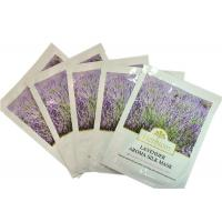 Powdered Skin Care Silk Facel Mask With Serum Lavender Extract