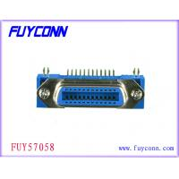 Buy cheap Female 24 Pin Centronics Connector , Panel Mount Connectors Certified UL from wholesalers