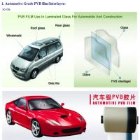 China Hot selling cheap price clear	Automotive Grade PVB film for laminated glass on sale