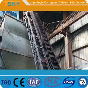 Cheap B650 High Angle Belt Conveyor for sale