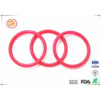 Red Nitrile O Ring Rubber Seal  Oil Resistance For Auto Parts Manufactures