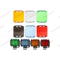 Cheap Multi Color Automotive Lighting Accessories 3'' 6 '' Black Amber LED Light Bar Cover for sale
