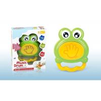 Buy cheap Frog Music Drum Piano Newborn Baby Toys W / Lights Educational Instrument from wholesalers