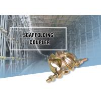 Scaffolding drop forged and pressed swivel and double coupler