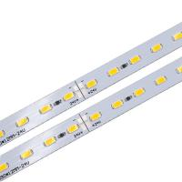 Cheap DC 24V Rigid LED Strip PCB Board Module with SMD 5630 LEDs for Shelves or Counters Lighting for sale