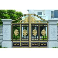 Cheap Courtyard Gate garden plant accessories with Optional Model 120W 1200N 4.5m electric courtyard door carport for sale