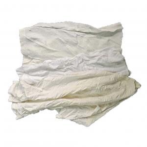 Cheap 100% Cotton 25cm 10Kg Packaging White Cotton Rags for sale