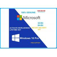 Buy cheap Microsoft Windows 10 Pro Software 64 bit DVD OEM License OEM key/English/french from wholesalers