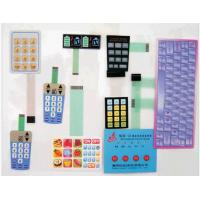 RoHS standard Flexible PCB Membrane Switch, with 3M467 And 3M468 Adhesive For GPS