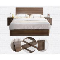 Quality Cheap style rent Apartment home furniture melamine plate bed 1.2m- 1.5m-1.8 m wholesale