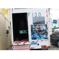 Cheap VR Theme Park Mobile Movie Theater Truck Equipment With 2 3 4 6 8 9 12 Seats for sale