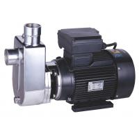 China Electric Stainless Steel Self Priming Pump , Self Priming Submersible Pump Copper Wire on sale