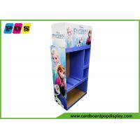 Advertising POS Toy Display Stand Flat Packing For Disney Frozen Toys FL202