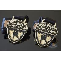 Cheap Gifts Hockey Custom Sports Medals And Medallions Soft Eanemal With Logo And Ribbon for sale