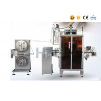 Cheap Heat Shrink Sleeve Labeling Machine , Sleeve Label Applicator With Shrink Tunnel for sale