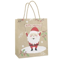 Cheap Eco Waterproof PMS Christmas Gift Bags for sale
