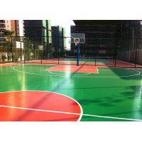 Cheap Multi Purposed PU Outdoor Sports Court Flooring Thick For Basketball Court for sale