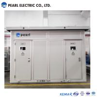 Cheap 2400 Kva 35 Kv Prefabricated Substations In Box type Aluminum Alloy Enclosure for sale