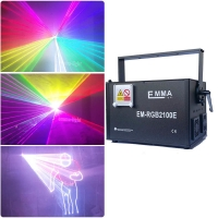 Cheap 10w RGB Full Color 3D Animation laser lighting Professional Stage Laser Show Light for sale