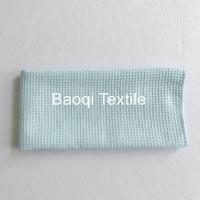 """Quality Blue color size 20""""microfiber glasses towel polyester waffle cleaning towels wholesale"""