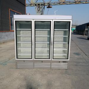 Cheap 3 Door Glass Commercial Merchandiser Display Freezer for sale