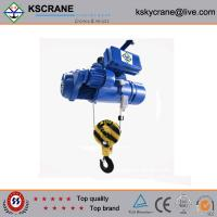 Cheap China Made Two Speed Steel Rope Electric Hoist for sale
