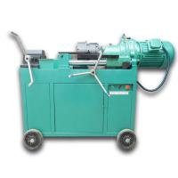 Cheap Electric Rebar Thread Rolling Machine for sale