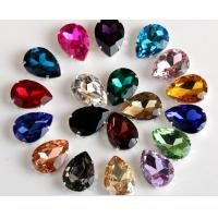 Cheap Rhinestones Sew On Crystal Glass stones with claw acrylic rhinestone trimming for sale